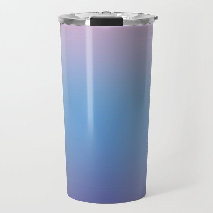Ombre Pink Blue Ultra Violet Gradient Pattern Travel Mug
