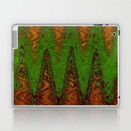Waving Green Laptop & iPad Skin