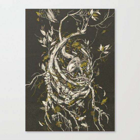 The Mangrove Tree Canvas Print