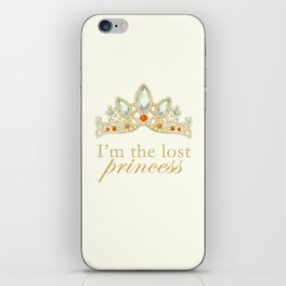 The Lost Princess iPhone Skin