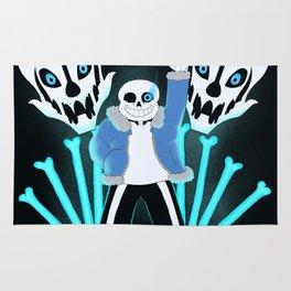 Sans the Skeleton Rug