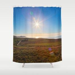 Solar Sentinel of Point Reyes Shower Curtain