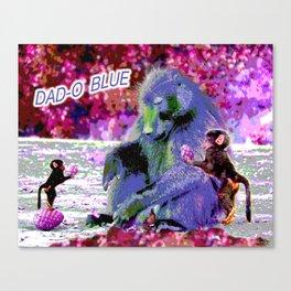 DAD-O BLUE Canvas Print