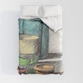 Garden Pots Comforters