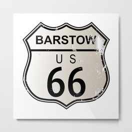 Barstow Route 66 Metal Print