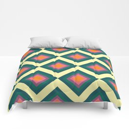 Retro Pattern VII Comforters