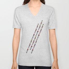 New York City (typography) Unisex V-Neck