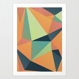 Geometric XXXI Art Print