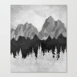 Layered Landscapes Canvas Print