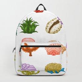 Pixel Ocean Backpack