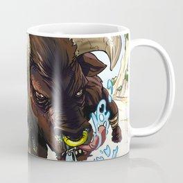 MERMAID RIDING A MINOTAUR Coffee Mug
