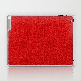 Rose Red Shag pile carpet pattern Laptop & iPad Skin