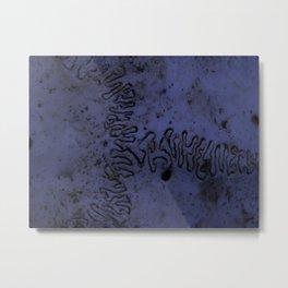 Brainwaves Metal Print