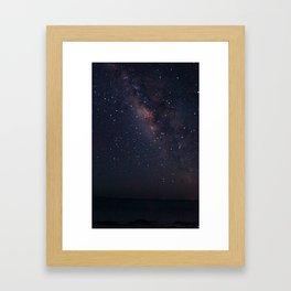 Milky Waaaaaayyyyy Framed Art Print