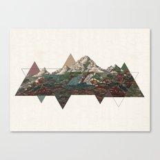 This mountain light Canvas Print