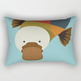 Platypus Rectangular Pillow
