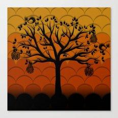 Fruits Talk Canvas Print
