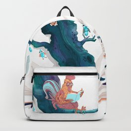 chicken in wonderland Backpack