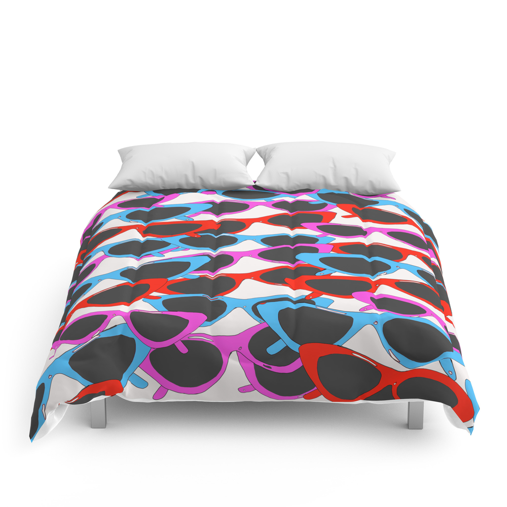 Retro_Sunglasses_Print_Comforter