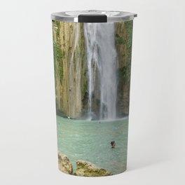 Mantayupan Waterfalls, Cebu, Philippines Travel Mug
