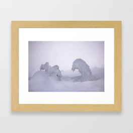 Snow 1.8 Framed Art Print