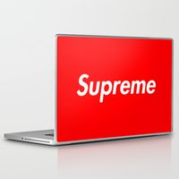 supreme Laptop & iPad Skins featuring Supreme by Harry Martin