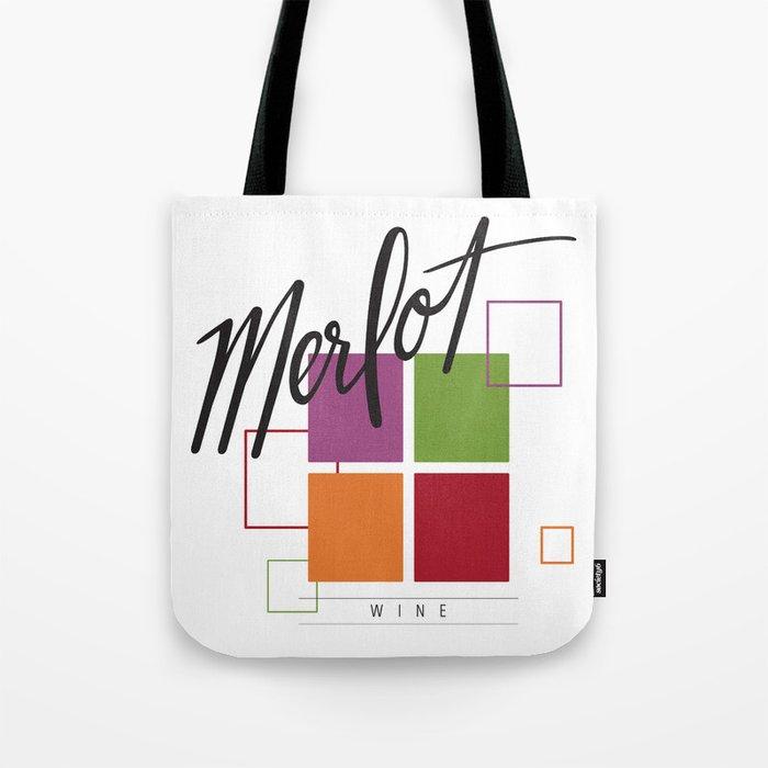 Merlot Tote Bag