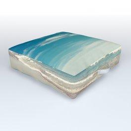 The swimmer Outdoor Floor Cushion