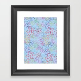 pattren v6 Framed Art Print