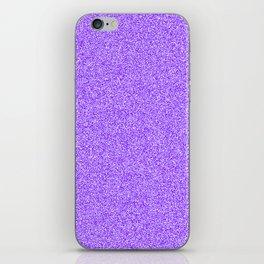 Melange - White and Indigo Violet iPhone Skin