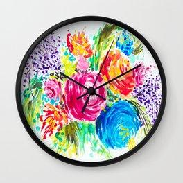 Emma's Garden Wall Clock