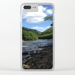 Poconos Clear iPhone Case