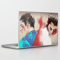 sterek Laptop & iPad Skins featuring sterek by Crisis