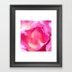 Rose Book 3 Framed Art Print