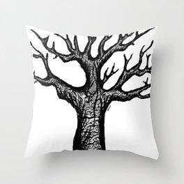 treeyes Throw Pillow