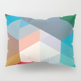 Triangles and more shapes Pillow Sham