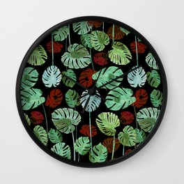 tropical invasion Wall Clock