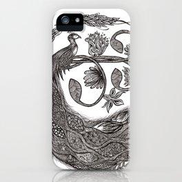 Peacock iPhone Case