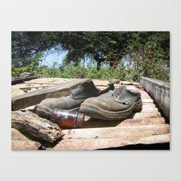 Elton's Shoes Canvas Print