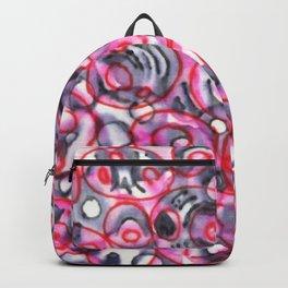 Rippling : Red & Black Backpack
