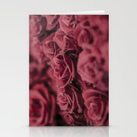 moulin rouge Stationery Cards featuring Rouge by Zayda Barros