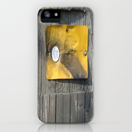 Gold Plate  iPhone Case