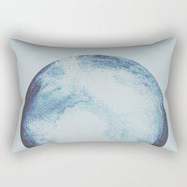watercolor moon Rectangular Pillow