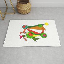 Chicken Dance Rug