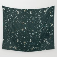 stone Wall Tapestries featuring Stone by Judith Abbott