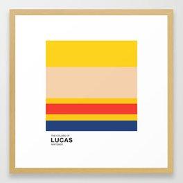The Colors of Lucas Framed Art Print