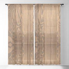 Wood 4 Sheer Curtain