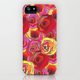 outcast of roses iPhone Case