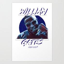 Commision - William Gates Art Print