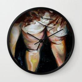 Lauren Nemchik - Bruised Betty  Wall Clock